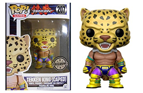 Figura Vinyl Pop! Tekken King Caped Limi