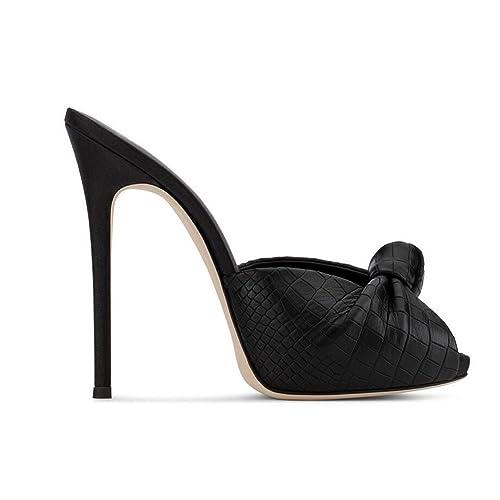 Exing Scarpe da Donna Nuove estive Scarpe da Sera Europee e Americane  Sandali con Tacco Alto Pantofole da Ballo Sexy  Amazon.it  Scarpe e borse 82527a565c3