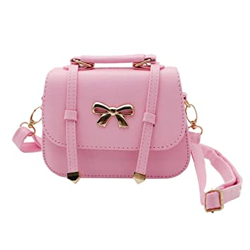 e7a7ce1553fa Scheppend Fashion Little Girls Handbag Kids Shoulder Bag Cross Body Dual-purpose  Purse for Children