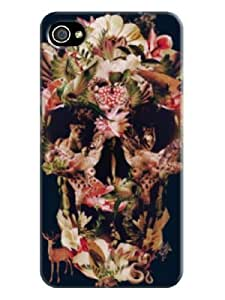 3d Patterned Textures Phone Protection Case/cover/shell for Iphone 4/4s