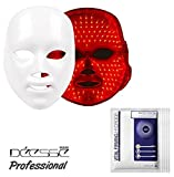 For Gift DEESSE Professional LED Beauty Mask, Home Aesthetic Mask, Self Skin Care, Only Red Color LED SBT-MASK-STD (Made in Korea) + LJH Vital Firming Hydrogel Mask Sheet 50pcs Set