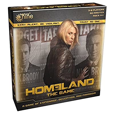 Homeland The Game Board Game: Gale Force Nine: Toys & Games