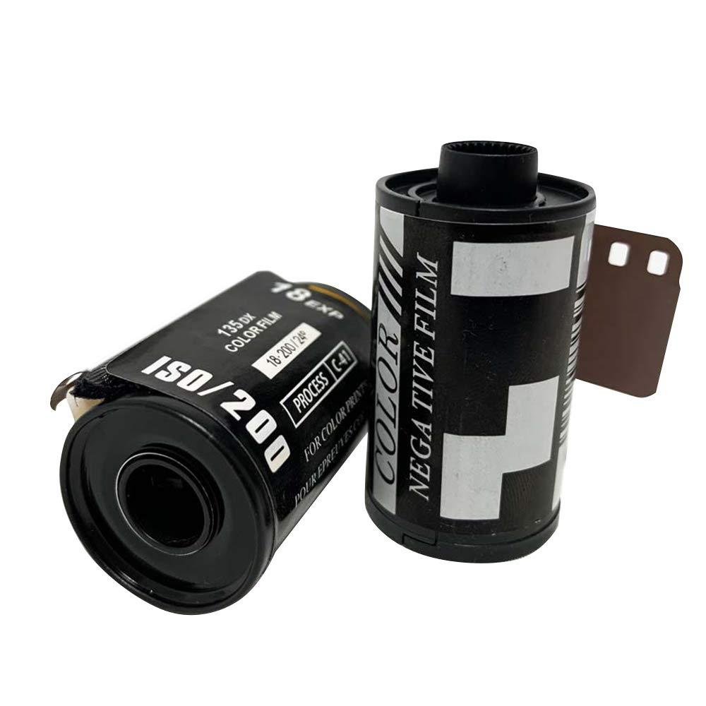 pel/ícula de Estilo Retro aplicable a c/ámaras Tipo 135 LUOLENG Pel/ícula de Color de c/ámara de 35 mm para Principiantes