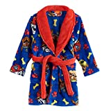 Nickelodeon Toddler Boys' Paw Patrol Luxe Plush Robe, Super Blue, 2T