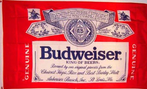 - NEOPlex 3' x 5' Budweiser Beer Flag