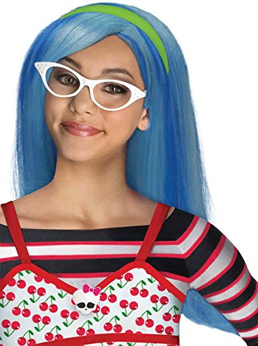 UHC Child Ghoulia Yelps Monster High Wig Halloween Costume (Ghoulia Monster High Costume)
