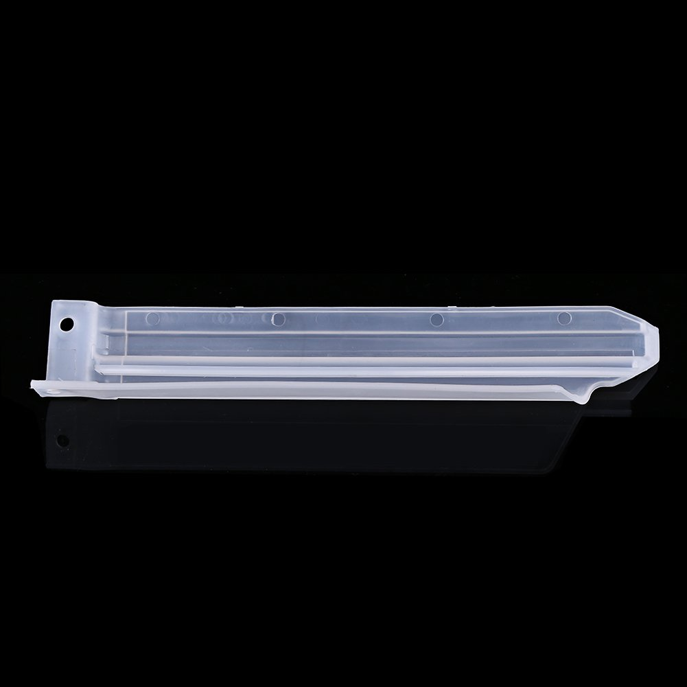 Keenso Protecteur Couvercle De Pit Trail Prot/ège-Jambes Coulissante Curseur de Fourche Avant gardes en Plastique pour KLX650 KLX250R KLX300R White Protection de Fourche Avant