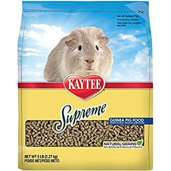 Kaytee Supreme Guinea Pig Food, 5-lb bag