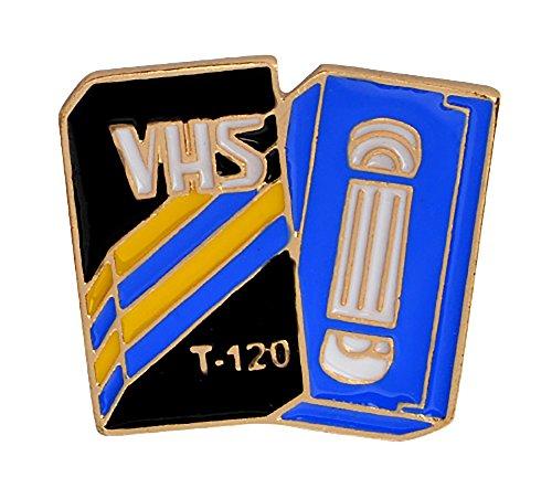 VHS Tape Enamel Pin (Vhs Pin)