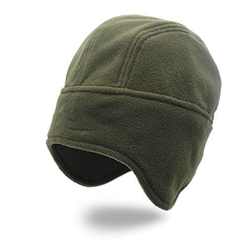 Navidad invierno paraviento verde Otoño sombreros Halloween protector mujer de Green gorro hat Military beanie auditivo militar hat pareja hombre El prueba MASTER Gorra a hat nieve 8P5wqdd