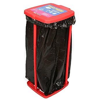 Boli Soporte para bolsas de basura 60-120 litros Con tapa (red)