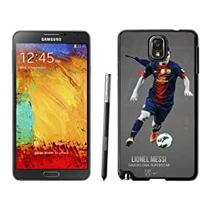 Unique DIY Designed Case For Samsung Galaxy Note 3 N900A N900V N900P N900T With Soccer Player Lionel Messi 06 Cell Phone Case