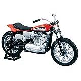Maisto 1972 XR750 Racing Bike Harley Davidson Die-Cast Motorcycle 1:18 Scale by Maisto