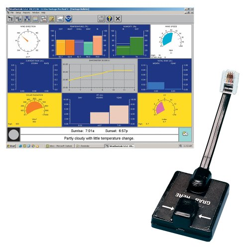 Instruments Any Two (Davis Instruments 6510SER Software w/Data Logging for Vantage Pro 2, Serial)