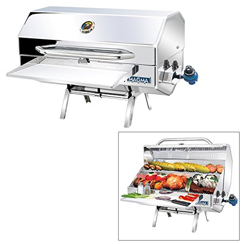 Magma Products, A10-1225-2 Monterey 2 Gourmet Series Gas Grill, Polished Stainless (Monterey Gourmet Series)