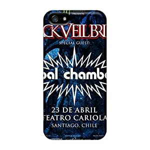Bumper Hard Cell-phone Case For Iphone 5/5s With Custom Fashion Coal Chamber Band Image JasonPelletier