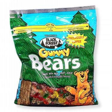 Gummi Bears - Black Forest, 5 lbs