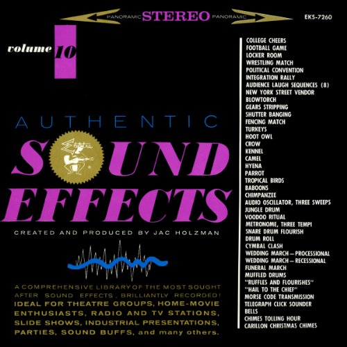 Authentic Sound Effects (Vol. 10) ()