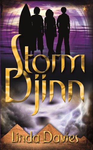book cover of Storm Djinn