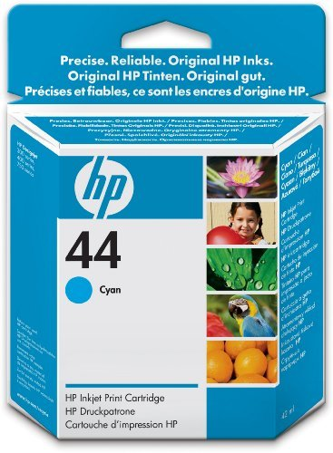 (HP 51644CE - NO.44 CYAN INK CART 42ML)