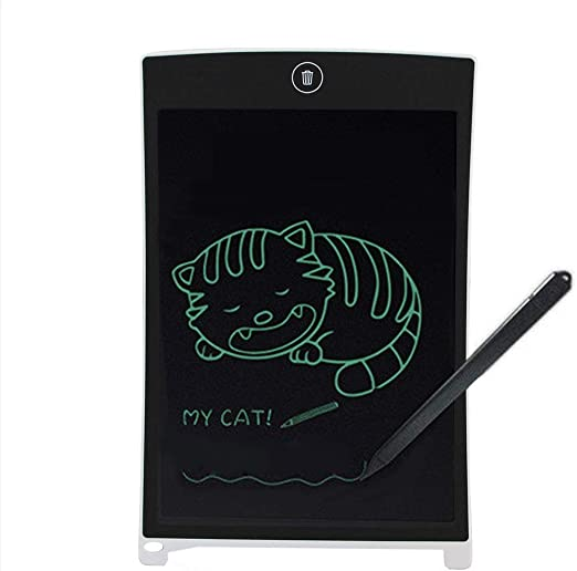 ライティングタブレットPaulclub Howshow 8.5インチ液晶圧力センシングE-注ペーパーレスライティングタブレット/ライティングボード(ブラック) fangyechen (Color : White)