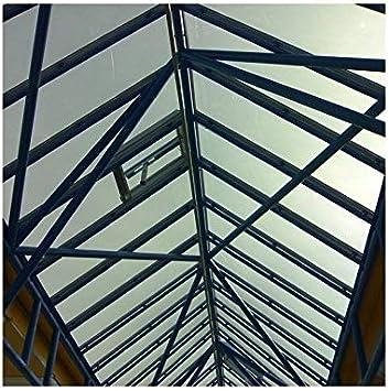 Dimexact Película Anti Calor para Veranda y Cubierta de Piscina de Plexiglás y Policarbonato, Gris Reflectante, Anchura 1,52 m, en Rollo: Amazon.es: Hogar