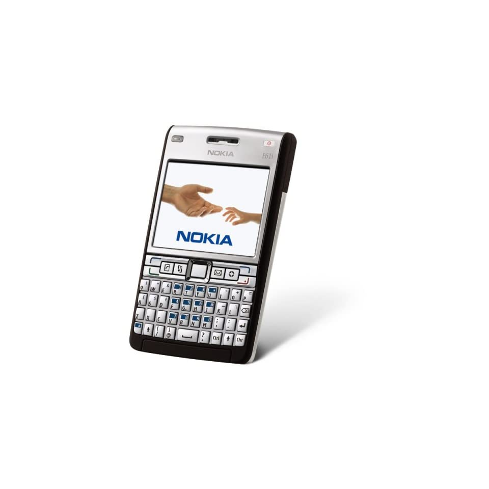 Nokia E61i Unlocked Phone with 2 MP Camera, International 3G, Wi Fi, Media Player, and MicroSD Slot  International Version with Warranty (Mocha) Cell Phones & Accessories