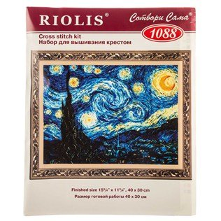 UPC 711938060416, Starry Night Counted Cross Stitch Kit
