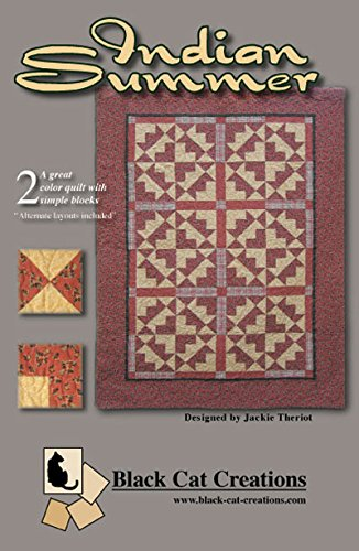 Indian Summer Quilt Pattern By Black Cat Creations