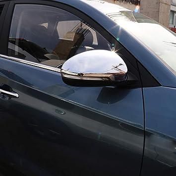 Kadore ABS Cromado Puerta Lateral Espejo retrovisor Tapa para Hyundai Tucson SUV 2016 2017 2018 Accesorios de Coche 2pcs/Set: Amazon.es: Coche y moto