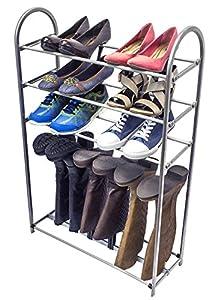 sorbus 174 shoe and boot rack organizer storage
