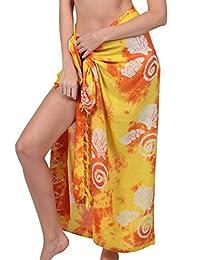 Ingear Beach Sarong Summer Beachwear Wrap Skirt Print Pareo Swimsuit Cover Up