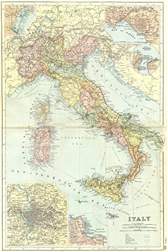 Amazon Com Italy Venice Naples Messina Rome Palermo 1905