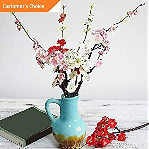 Hebel FA_ Artificial Plum Blossom Silk Flower Home Shop Cafe Hotel Stage Party Decor | Model ARTFCL - 28 | 47