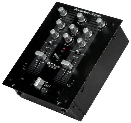 American Audio Microphone (American Audio Qd1 Mkii 2 Channel Audio Mixer)