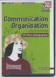 Communication Organisation 1e Bac Pro comptabilité : CD-Rom professeur