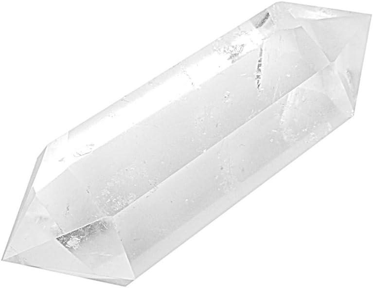 Cristal De Cuarzo Natural Clara Doble Punto