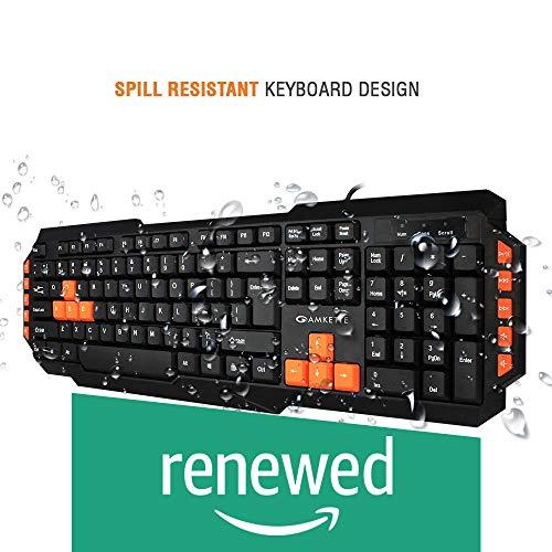 (Renewed) Amkette Xcite Pro USB Keyboard (Black)