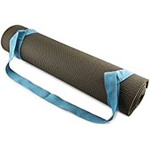 Fit Spirit Adjustable Cotton Yoga Mat Carrying Strap - Choose Your Color (YOGA MAT NOT INCLUDED)