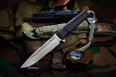 Kizlyar KK0209 Delta D2 Russian Made Tactical Knife, Satin from CAS HANWEI :: Combat Knife :: Tactical Knife :: Hunting Knife :: Fixed Blade Knife :: Folding Blade Knife