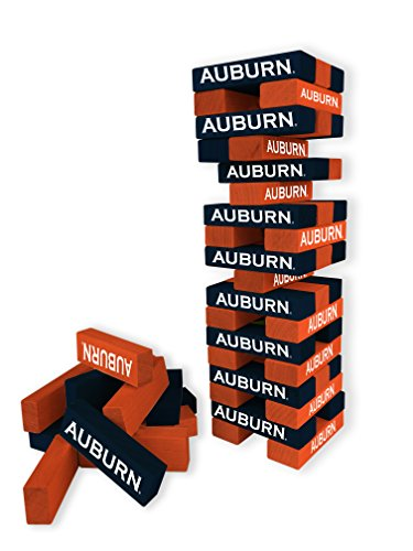 (Wild Sports NCAA College Auburn Tigers Table Top Stackers)