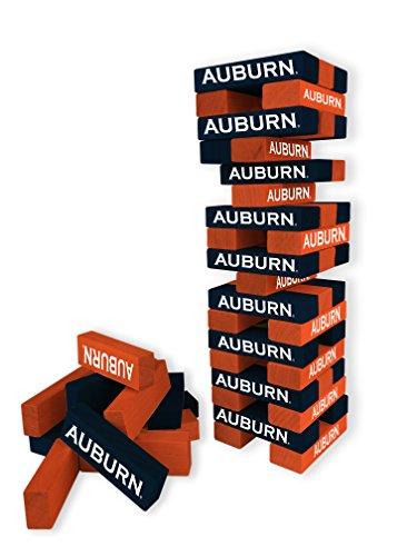 Auburn Tigers Table - Wild Sports NCAA College Auburn Tigers Table Top Stackers Game