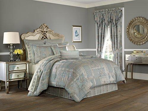 Five Queens Court Abigail 4-Piece Comforter Set, King Size