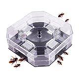 Reusable Plastic Catcher Box Cockroach Killer Roacher Insects Pest Bugs Capture Bait Traps Home Hotel Garden Pest Control Tools