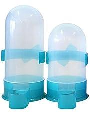 Alimentador de pájaros, Yuccer Alimentador automático de pájaros Bandeja extraíble Tetera Pigeon Bird Contenedores de