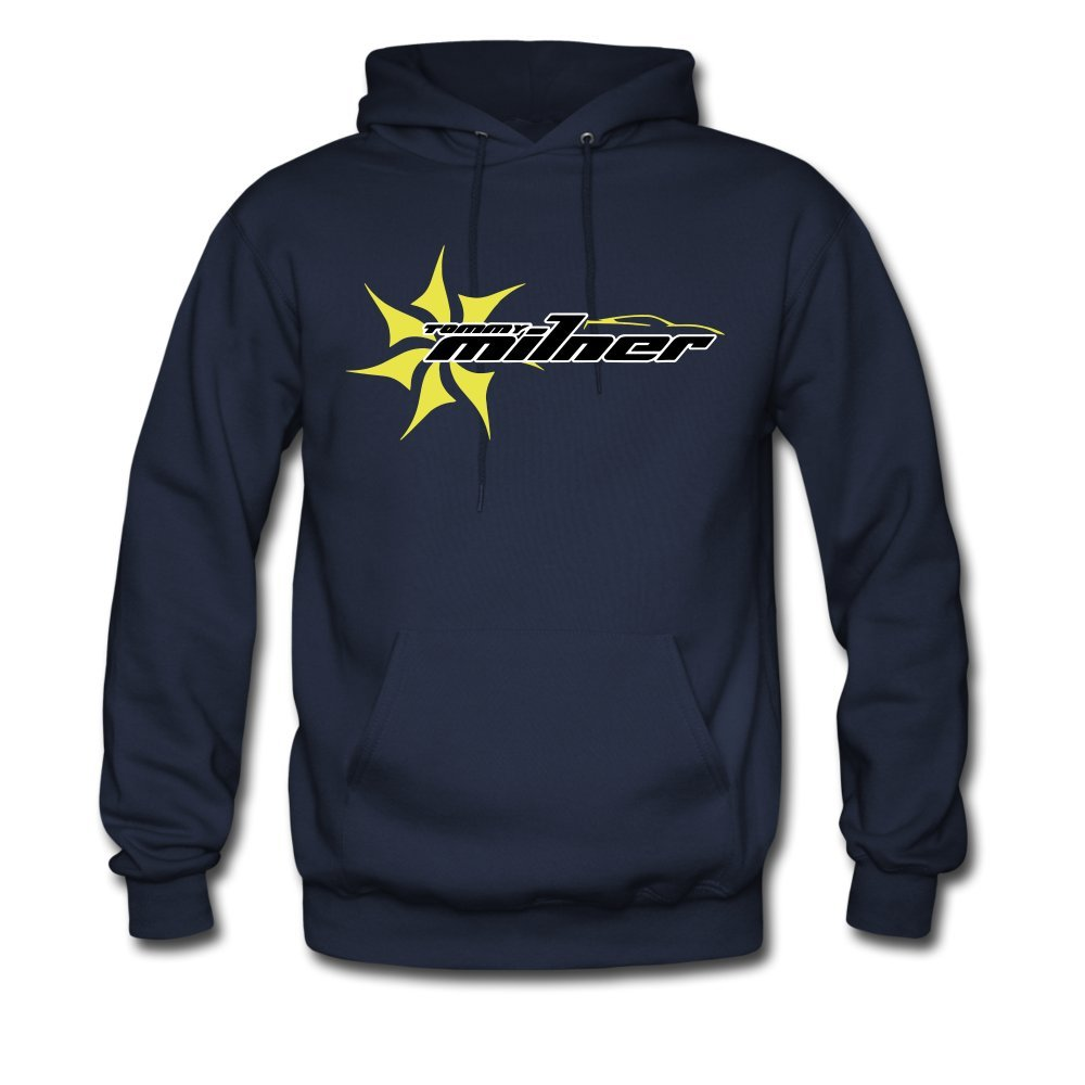 ATHLETE ORIGINALS Mens Hoodie Tm Star Logo V1 0 by Tommy Milner