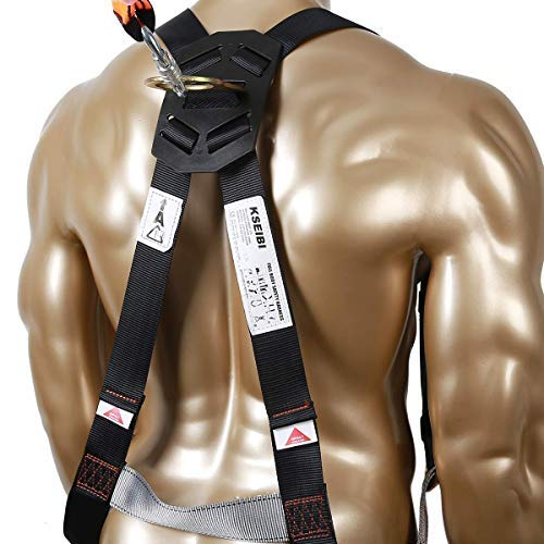 KSEIBI 421026 Fall Protection Safety Harness Kit W 3 D-Rings for Lanyard DELUXE Safety Protection Arrest and Carry Bag by KSEIBI (Image #8)