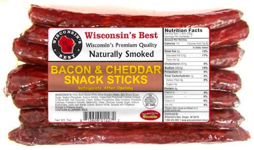 Wisconsins Best Wisconsin Cheddar Protein product image