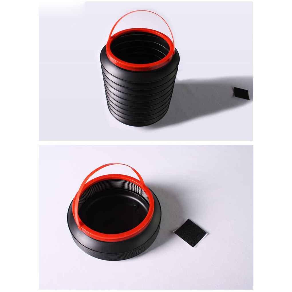 Provide The Best 4L Coche Plegable Plegable Cubo de Agua Cubo Cubo Pesca Auto Caja de Almacenamiento de contenedores