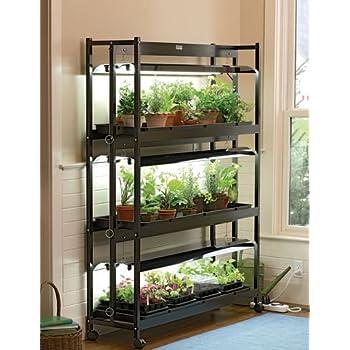 Indoor grow light 3 tier stand sunlite light for Indoor gardening amazon